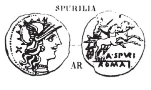 Denier Spurilia _ RRC 230/1