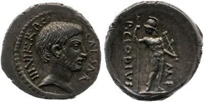 Read more about the article 1596JU – Denier Octave – Publius Clodius