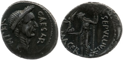 Read more about the article 1539JU – Denier César _ Publius Sepullius Macer
