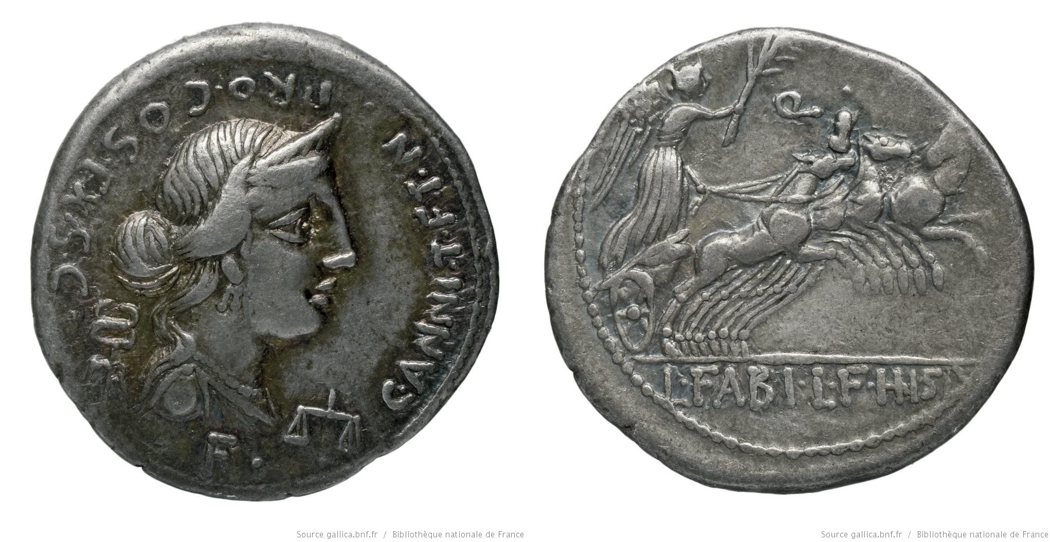 1290AN – Denier Annia – Caius Annius Luscus