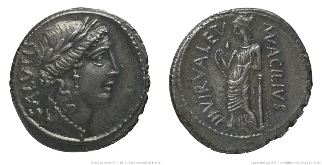 Read more about the article 1422AC – Denier Acilia – Manius Acilius Glabrio