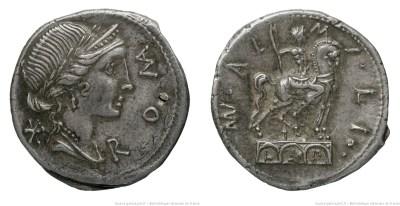 1097AE – Denier Aemilia – Manius Æmilius Lepidus