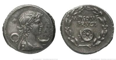 1379CA – Denier Calpurnia – M. Pupius Piso