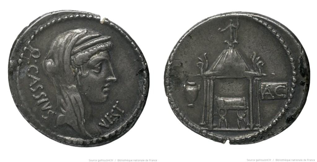 1402CA – Denier Cassia – Quintus Cassius Longinus