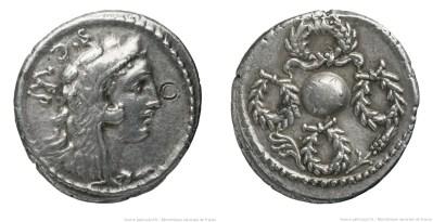 1398CO – Denier Cornelia – Faustus Cornelius Sylla