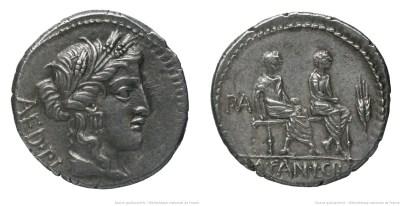 1264CR – Denier Critonia – Lucius Critonius