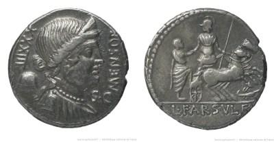 1332FA – Denier Farsuleia – Lucius Farsuleius Mensor