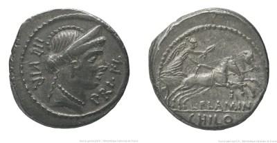 1556FL – Denier Flaminia – Lucius Flaminius Chilo