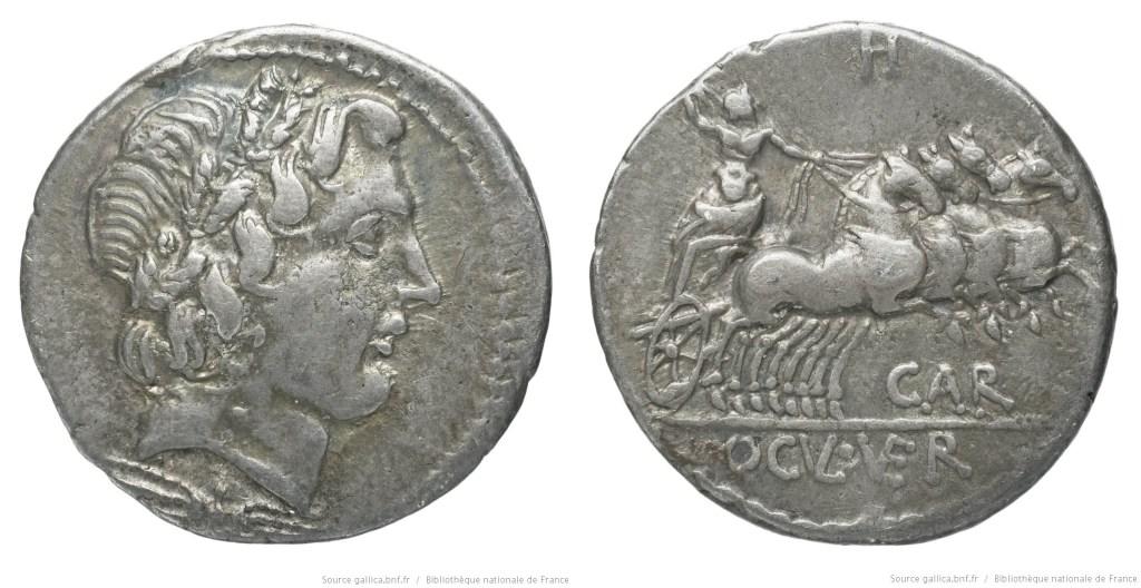 1258VE – Denier Vergilia – Gargilius, Ogulnius et Vergilius