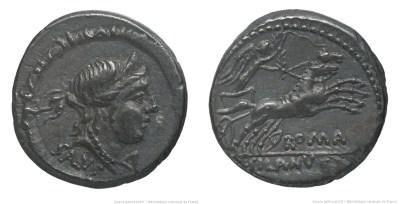 1192JU – Denier Junia – Decimus Junius Silanus