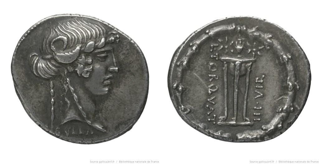 Read more about the article 1371MA – Denier Manlia – Lucius Manlius Torquatus