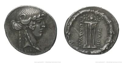 1371MA – Denier Manlia – Lucius Manlius Torquatus