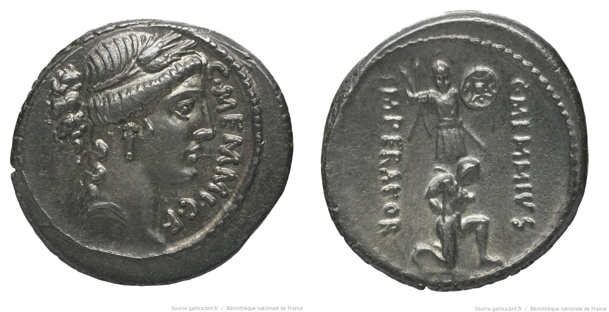1400ME – Denier Memmia – Caius Memmius