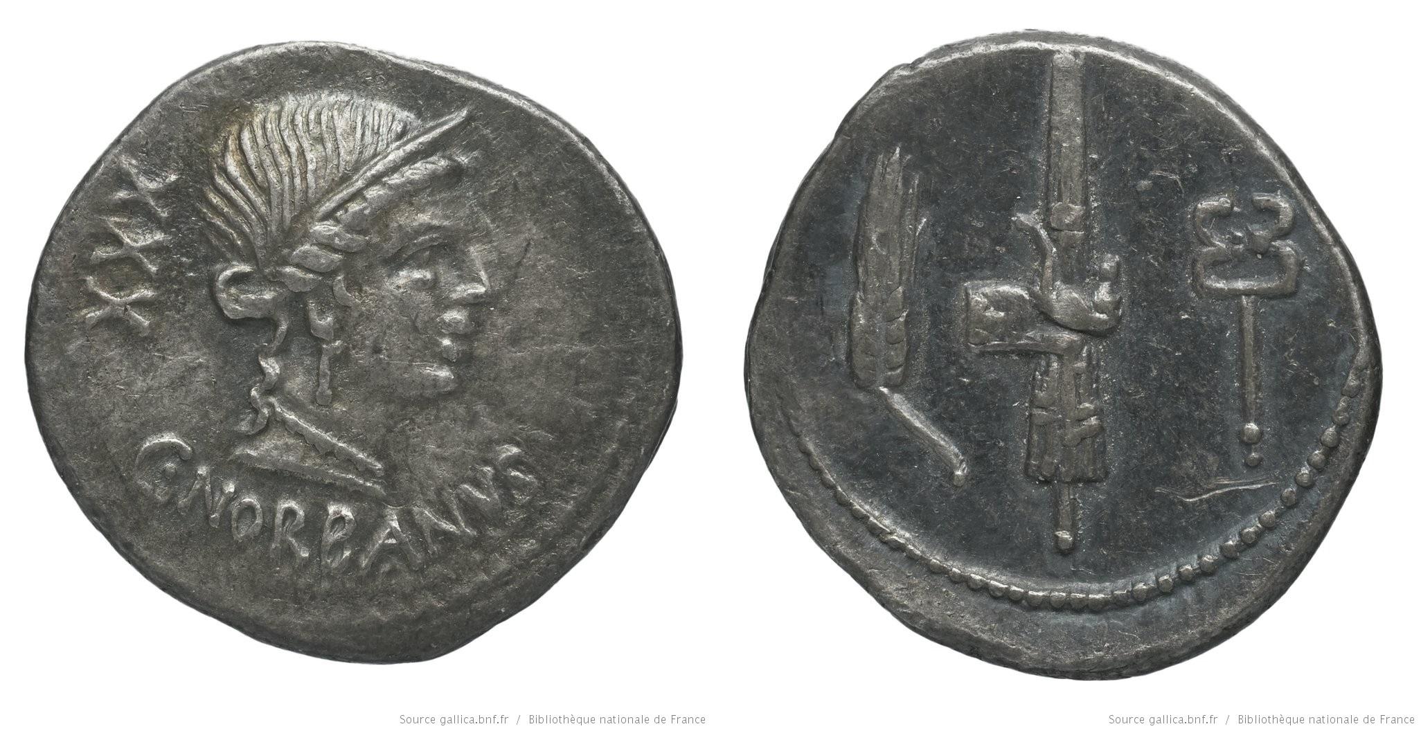 1278NO – Denier Norbana – Caius Norbanus