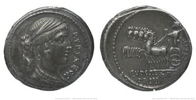 1388PL – Denier Plautia – Publius Plautius Hypsæus