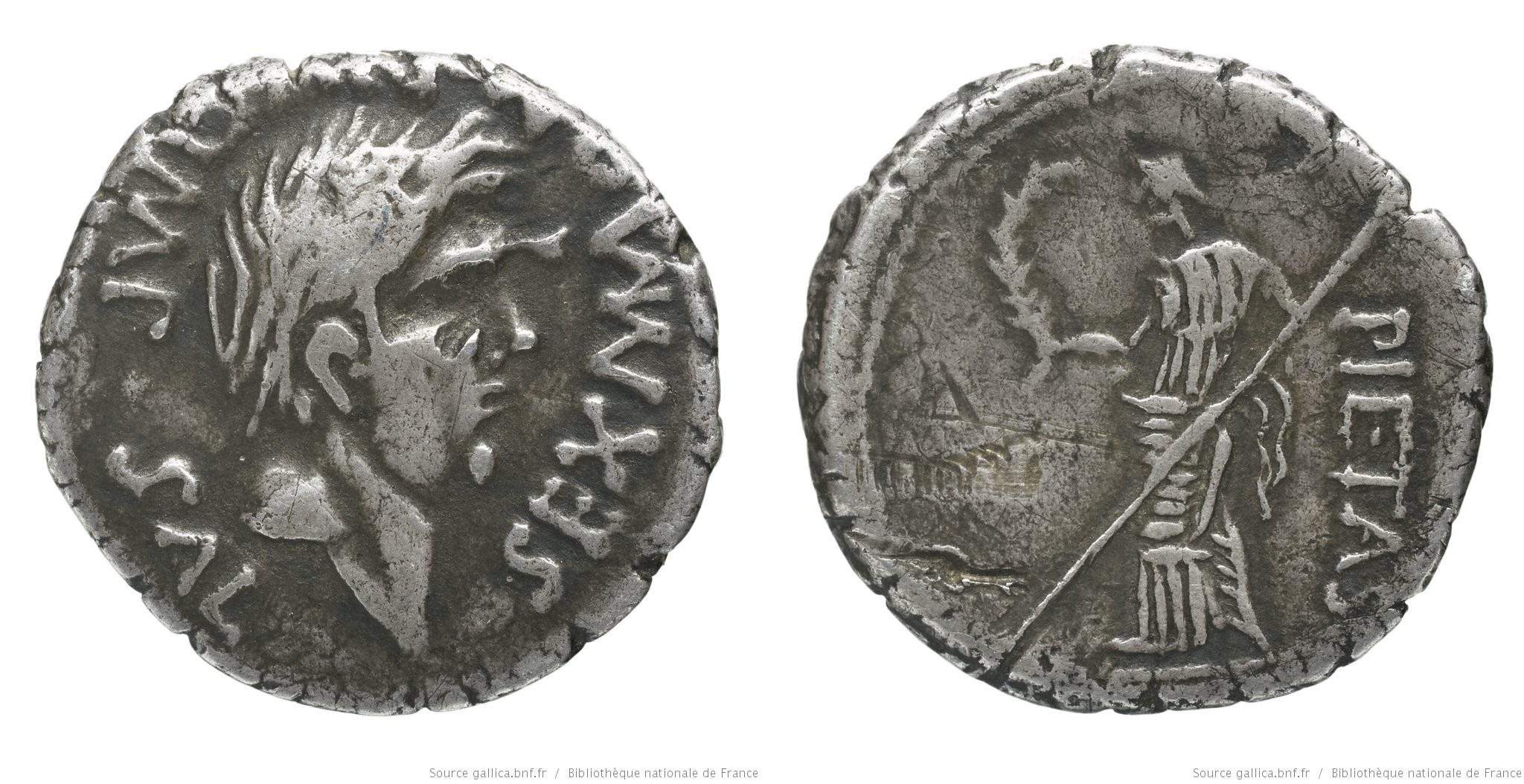 1519PO – Denier Sextus Pompée