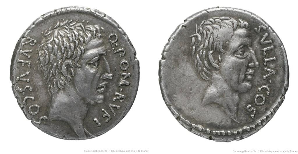 1412PO – Denier Pompeia – Quintus Pompeius Rufus