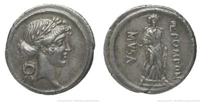 Read more about the article 1370PO – Denier Pomponia – Quintus Pomponius Musa