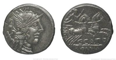 1052PO – Denier Porcia – Caius Porcius Cato