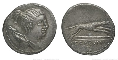1336PO – Denier Postumia – Caius Postumius