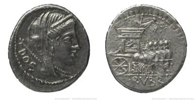 Read more about the article 1251RU – Denier Rubria – Lucius Rubrius Dossenus