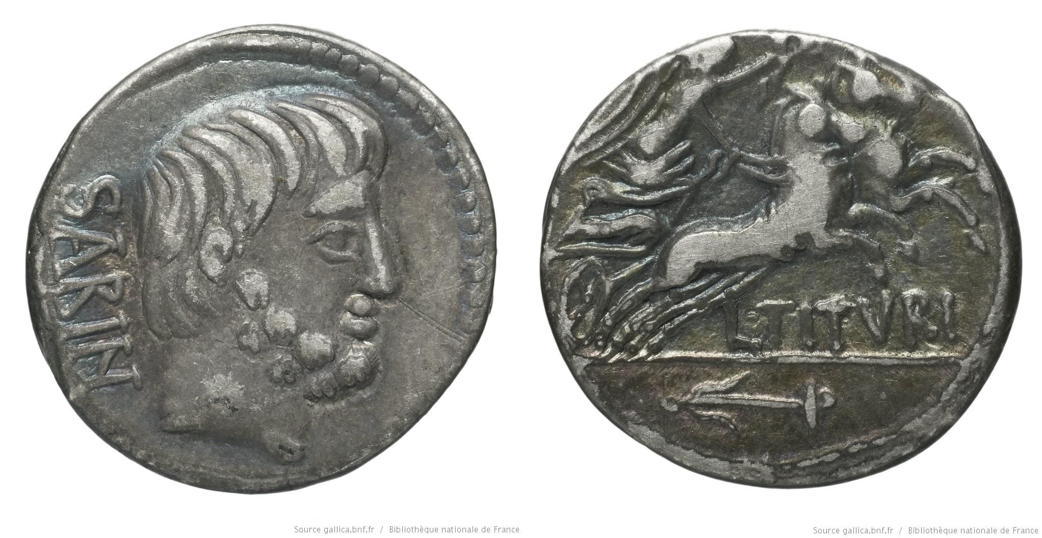 You are currently viewing 1236TI – Denier Tituria – Lucius Titurius Sabinus