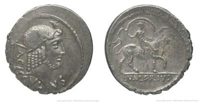 1507VA – Denier Valeria – Lucius Valerius Acisculus