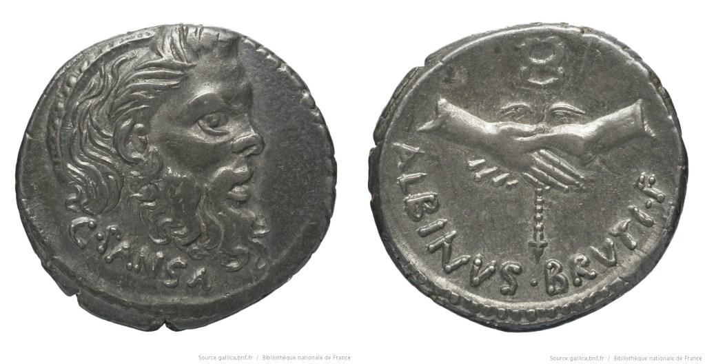1442VI – Denier Vibia – Caius Vibius Pansa