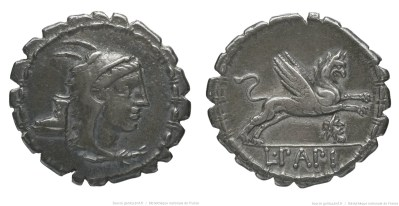 Read more about the article 1317PA – Denier Serratus Papia – Lucius Papius