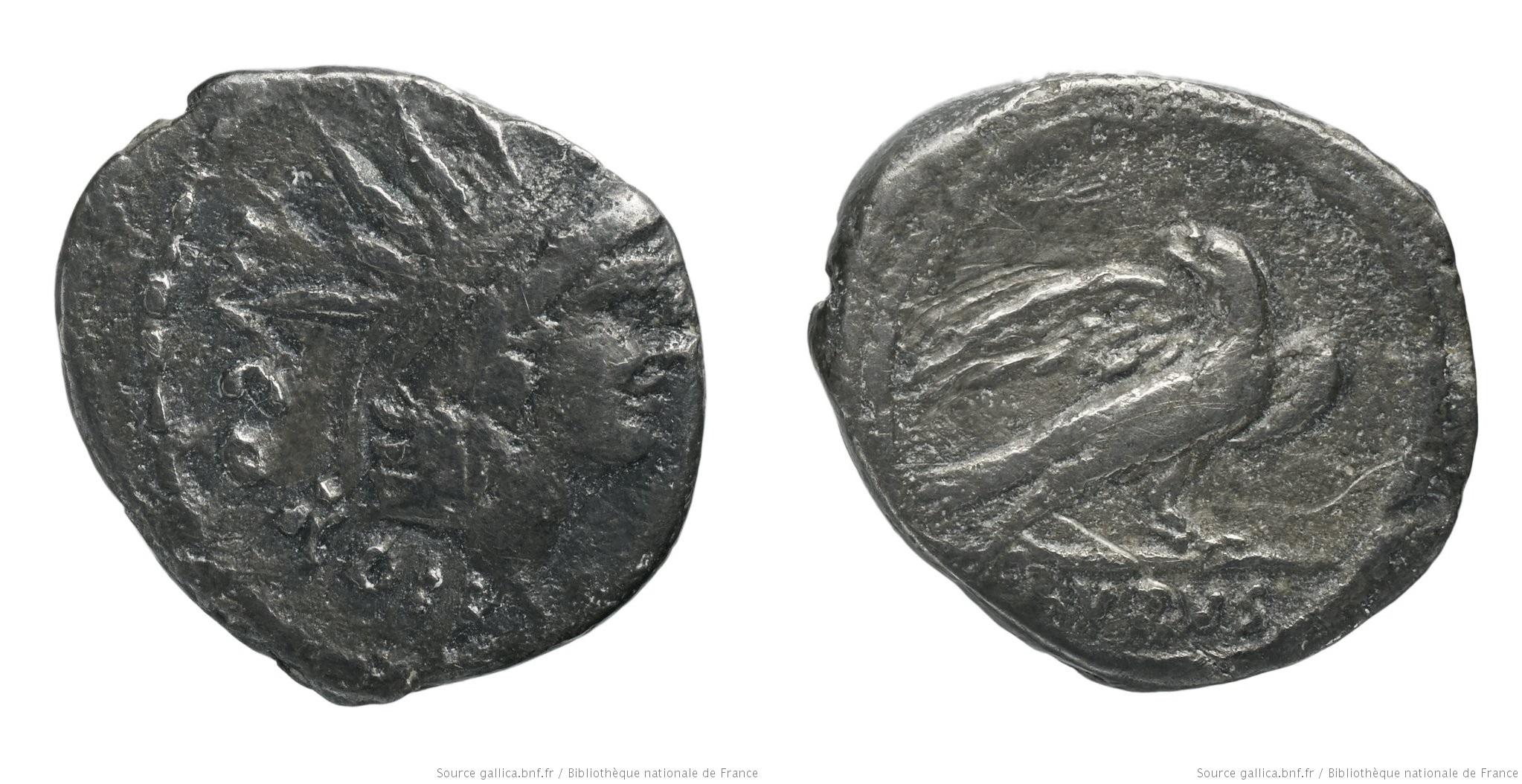 1472CO – Quinaire Cordia – Manius Cordius