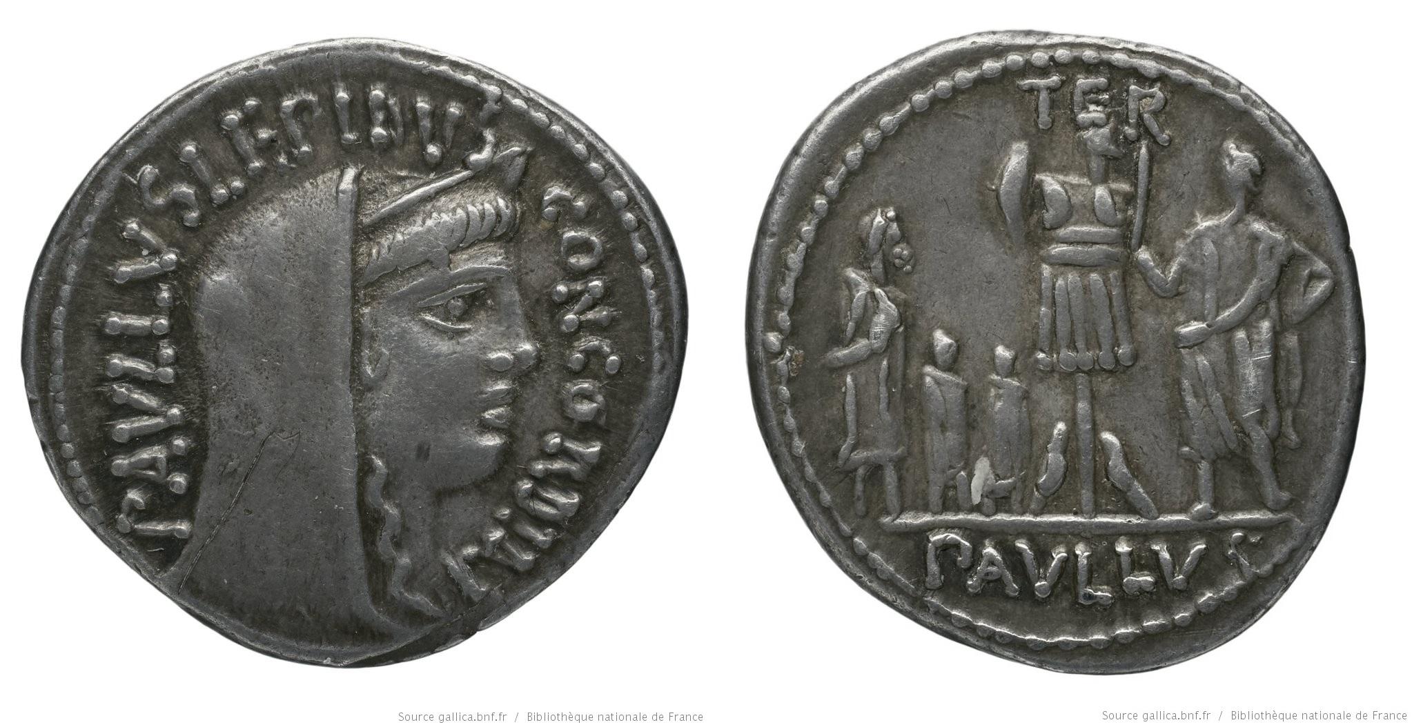 You are currently viewing 1375AE – Denier Aemilia – Lucius Æmilius Lepidus Paullus
