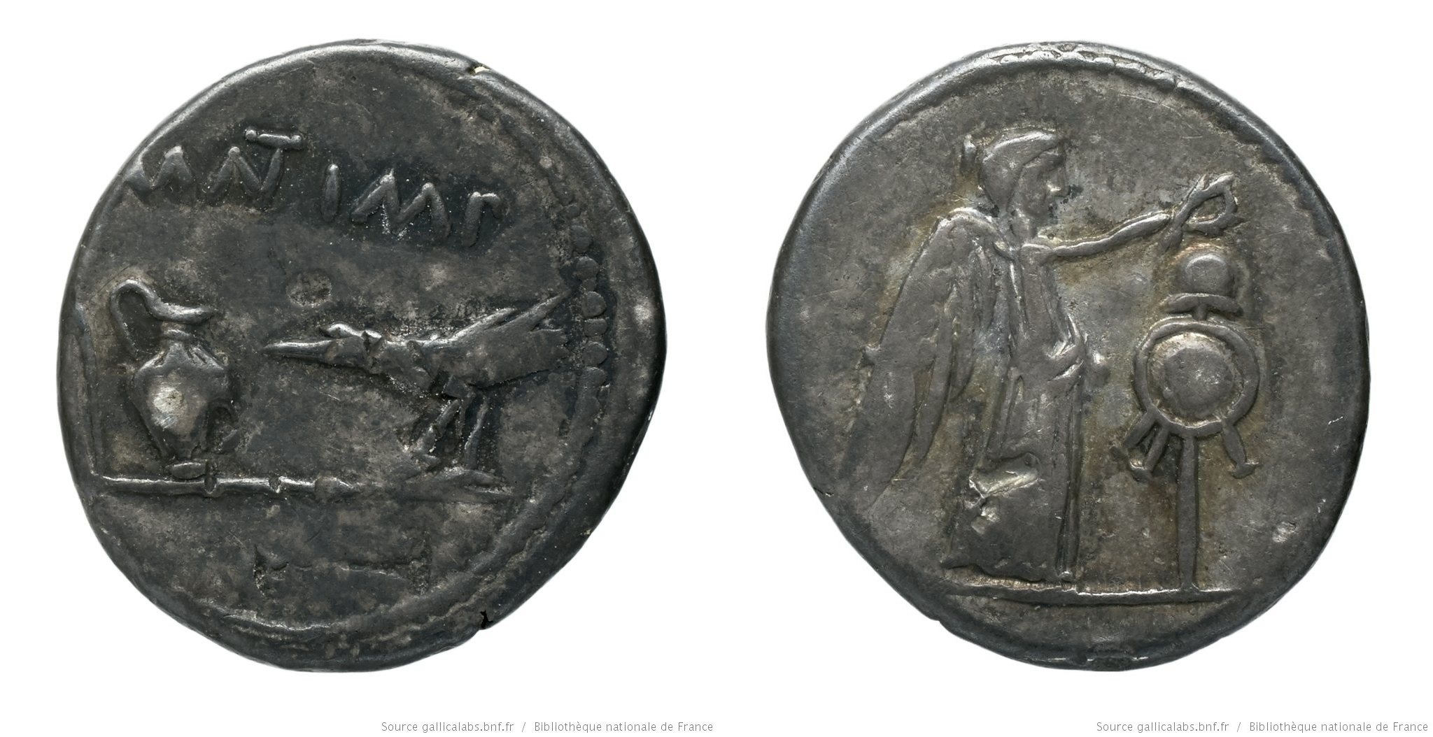 You are currently viewing 1567AN – Quinaire Marc Antoine – Marcus Antonius