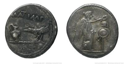 1567AN – Quinaire Marc Antoine – Marcus Antonius