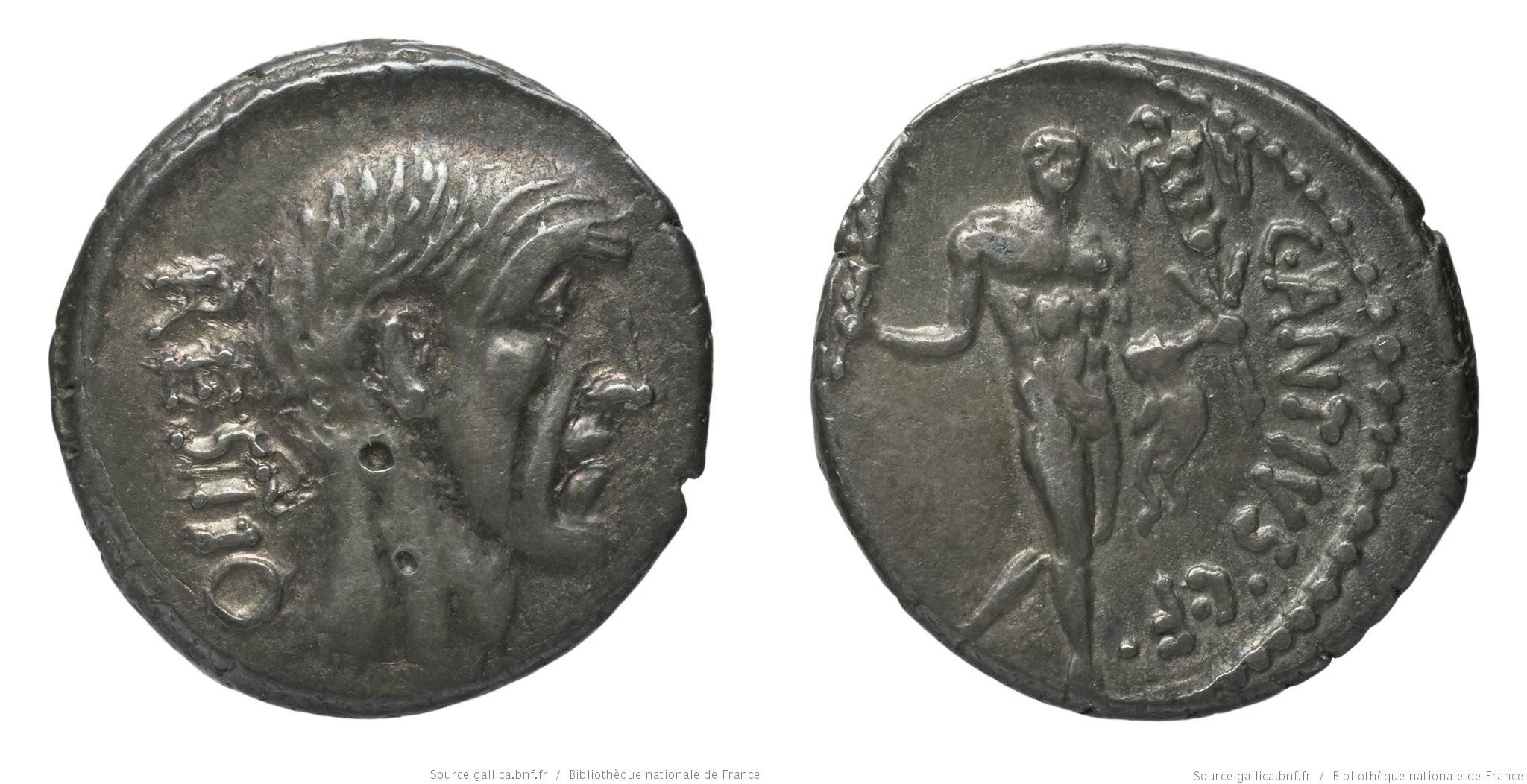 1453AN – Denier Antia – Caius Antius Restio