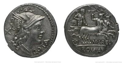 911AU – Denier Aurelia – Marcus Aurelius Cotta