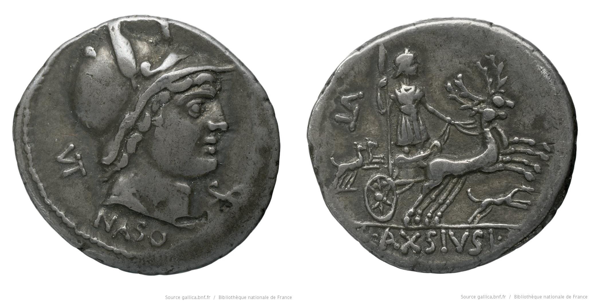 1343AX – Denier Axia – Lucius Axsius Naso