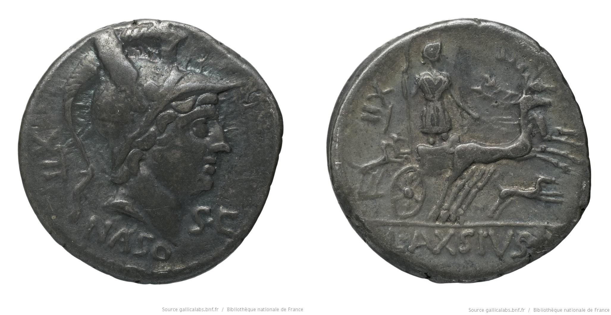 1344AX – Denier Axia – Lucius Axsius Naso