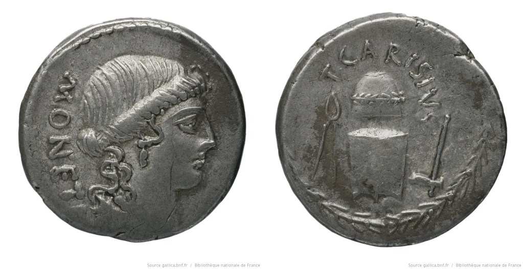 Read more about the article 1476CA – Denier Carisia – Titus Carisius