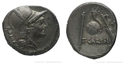 1477CA – Denier Carisia – Titus Carisius