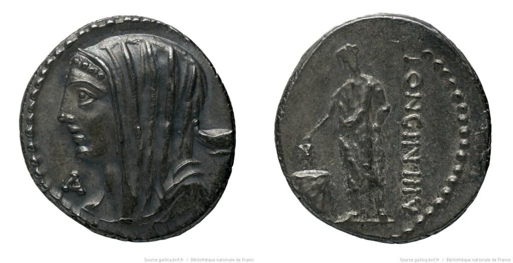 1373CA – Denier Cassia – Lucius Cassius Longinus