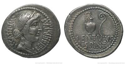 1635CA – Denier Cassius – Lentulus Spinther
