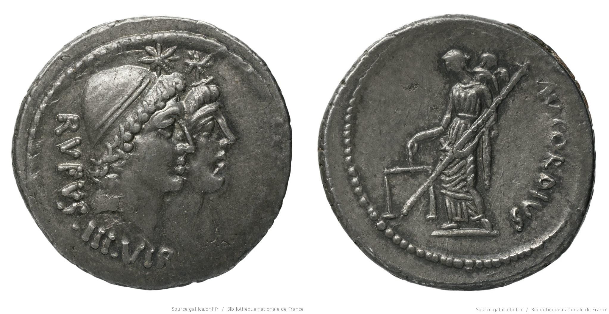 1469CO – Denier Cordia – Manius Cordius Rufus