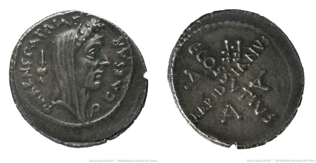 Read more about the article 1540JU – Denier César – Caius Cossutius Maridianus