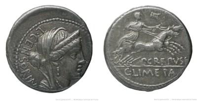 1282MA – Denier Marcia – Lucius Marcius Censorinus