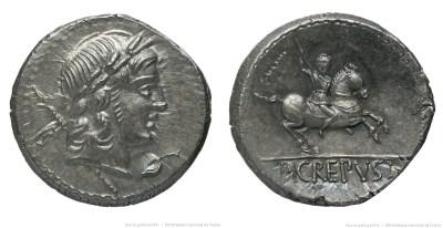 1284CR – Denier Crepusia – Publius Crepusius