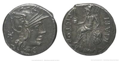 1039FA – Denier Fabia – Numerius Fabius Pictor