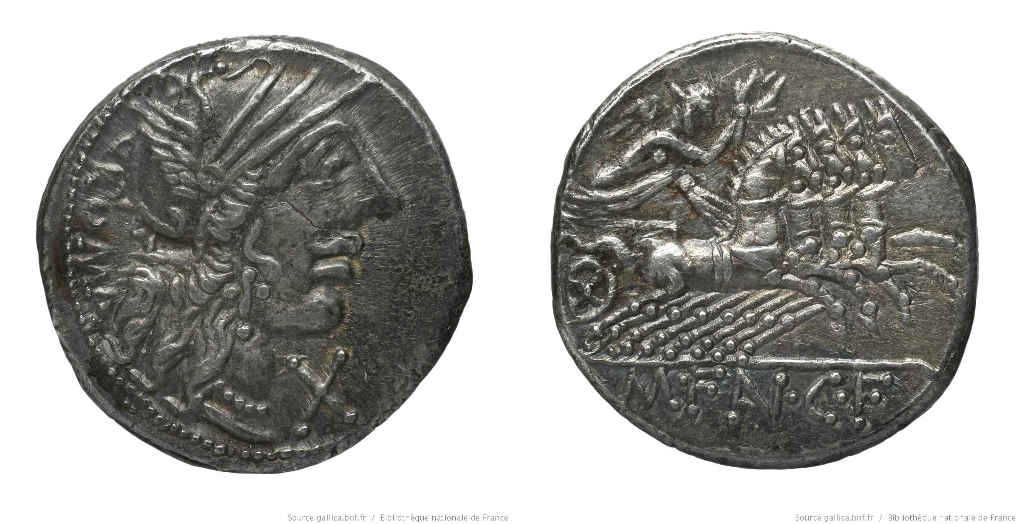 1055FA – Denier Fannia – Marcus Fannius