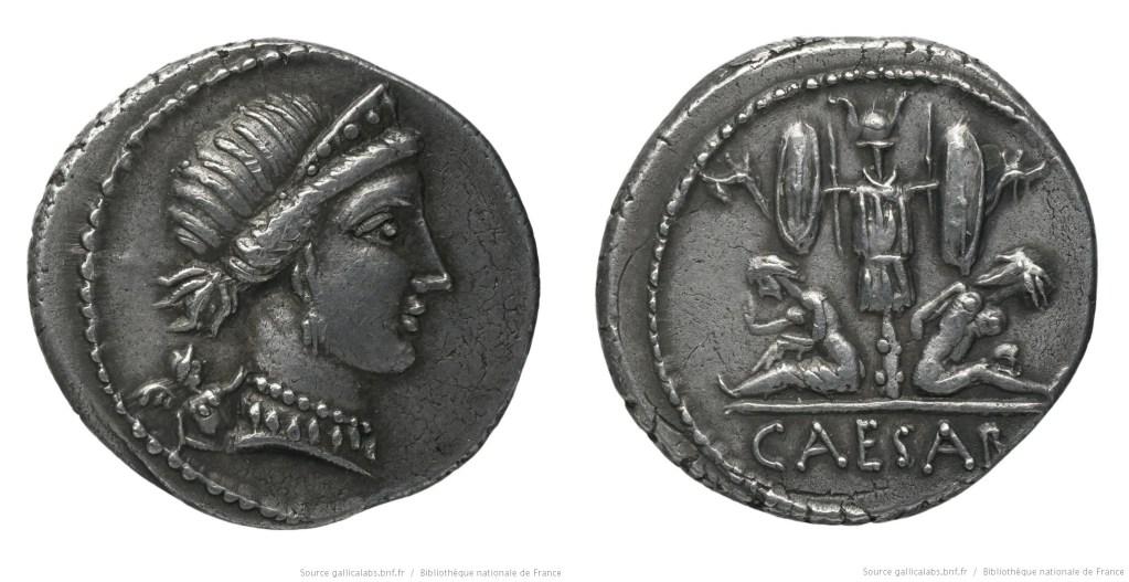 Read more about the article 1492JU – Denier César – Caius Julius Cæsar