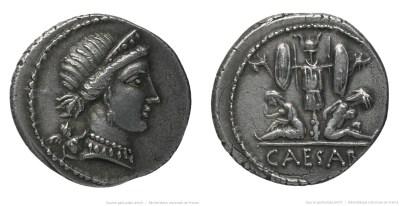 1492JU – Denier César – Caius Julius Cæsar