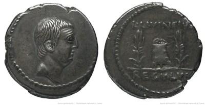 1607LI – Denier Livineia – Lucius Livineius Regulus
